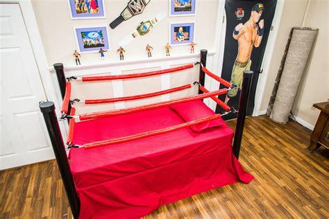 wrestling beds how to home family diy wrestling bed for kids