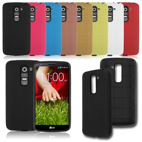android lg phone cases rubber matte soft cover skin for android phone lg g2 mini d618 d620 ebay