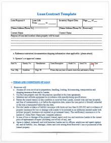 microsoft office contract template loan contract template microsoft office templates