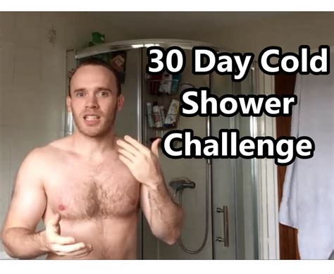 30 day cold water challenge 30 day cold shower challenge