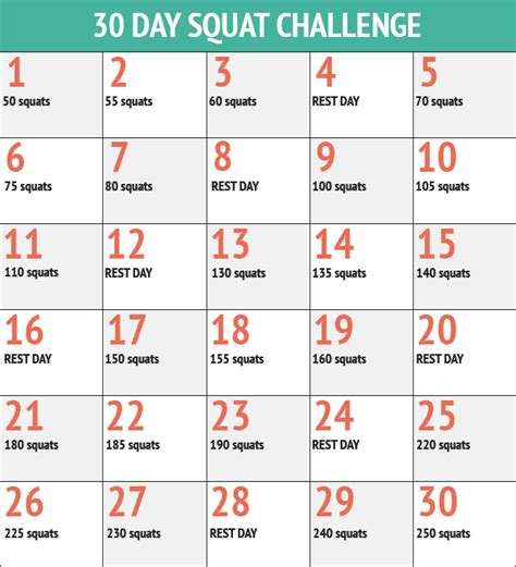 30 day squat challenge for 30 day squat challenge stefania dinea