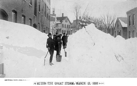 the great blizzard of 1888 could the 2015 new york blizzard be a no show cantech