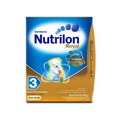 Nutrilon Royal 3 400 Gr jual nutrilon royal 3 vanilla 400gr