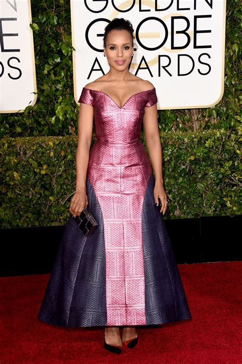 Golden Globes For by Kerry Washington 2015 Golden Globe Awards In Beverly