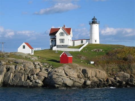 Nubble Light by Nubble Lighthouse Manifesting Now