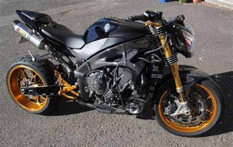 Yamaha Motorrad Turbo by Yamaha R1 Turbo Charged Streetfighter Auto Car