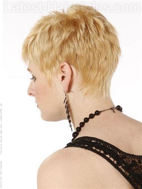 shag haircuts showing back of head shag wedge haircut new style for 2016 2017