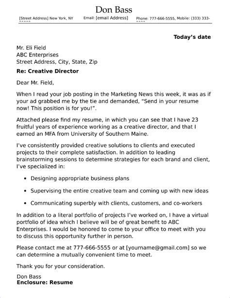 professional director of operations cover letter sample writing