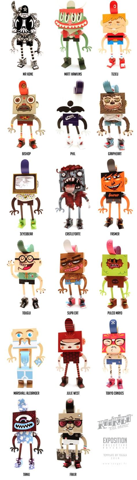 Papercraft Figures - make your own papercraft through rodrigo papel gadgetsin