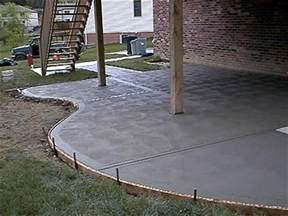 cement patio 17 best images about concrete flatwork on