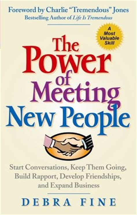 power  meeting  people start conversations