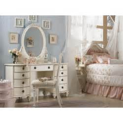 Girls Vanities For Bedroom Furniture Classic White Vanity For Bedroom Designed