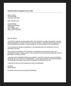 sonographer sample cover letter sample resumes design