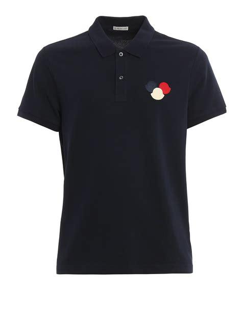 Polo Shirt Logo By Crion logo patch cotton pique polo shirt by moncler polo shirts ikrix