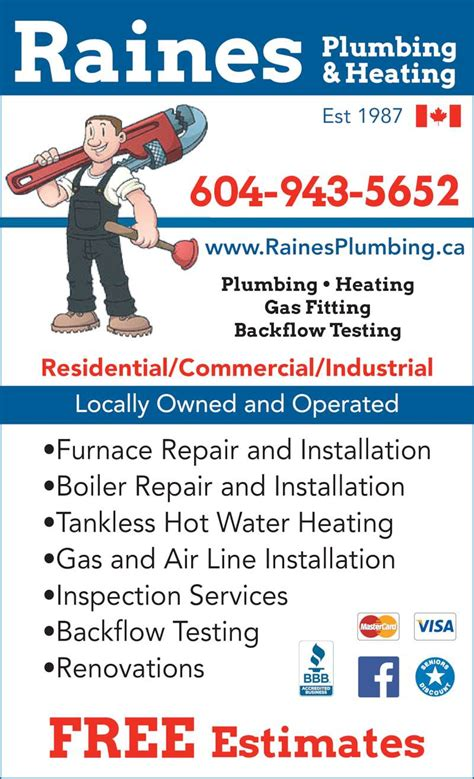R M Plumbing And Heating by R M Plumbing Heating Canpages