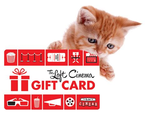 Loft Gift Cards - gift cards the loft cinema