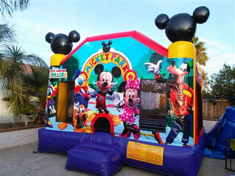 Jumper Mickey mickey mouse bounce house rentals jumpers