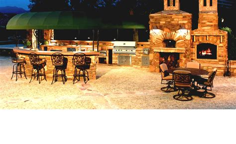 amazing inexpensive outdoor bar ideas with