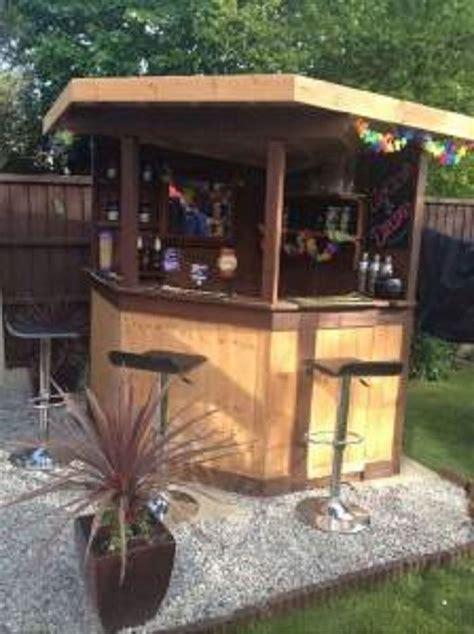 details  ft deluxe corner garden bar pub