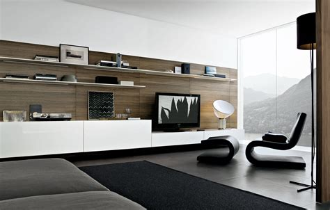 Minimalist Bed Frame Awesome Design Living Room Ideas Tv Wall Furniture