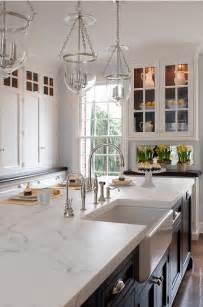 white marble kitchen island 60 inspiring kitchen design ideas home bunch interior