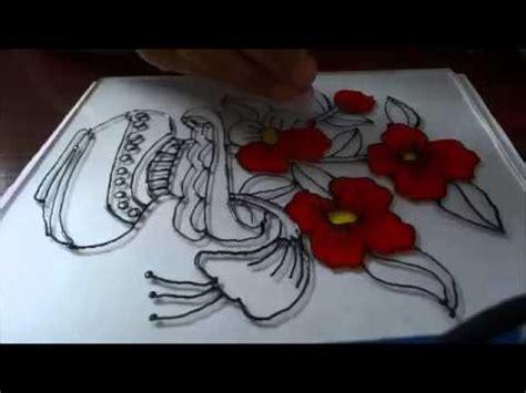 tutorial kaligrafi kaca kaligrafi bambu doovi