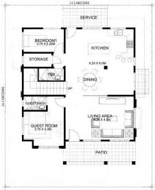 Ground Floor 3 Bedroom Plans by Marcelino Four Bedroom Two Storey Mhd 2016021 Pinoy