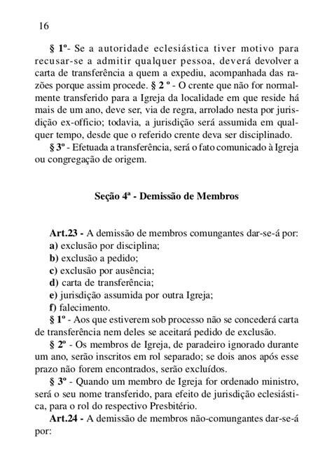 carta de anuencia transferencia de veiculo manual presbiteriano