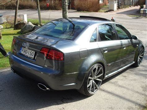 Audi Rs4 B7 Tuning by Audi Rs4 B7 Sedan Daytona Grey Rns E 193g Sunroof Rs4