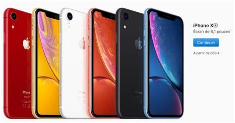 les prix en euros des iphone xr xs et xs max 224 partir de 859 jusqu 224 1 659 igeneration