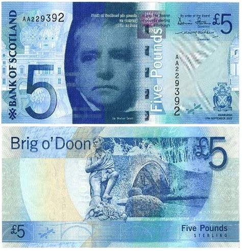 scottish bank notes bank of scotland 163 5 bank note flickr photo