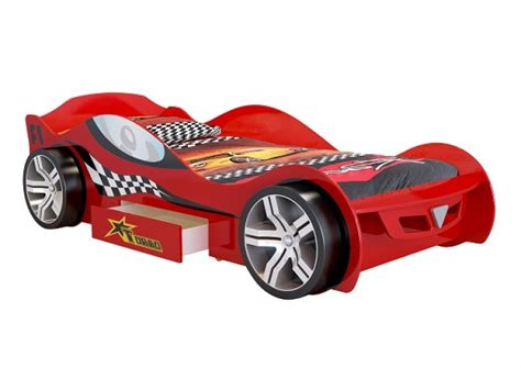 Joseph Turbo Racer Red 3ft Single Car Bed Frame Car Bed Frames