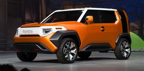 Toyota Fort Toyota Ft 4x Concept Is 75 Per Cent Production Ready