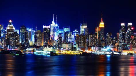 Sharing New York City Night Lights Hd Wallpapers Wallpaper New York Lights