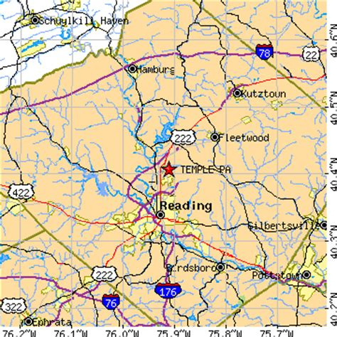 Blandon Pa temple pennsylvania pa population data races housing economy