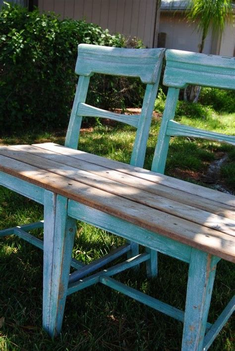 best way to bench 25 best ideas about chair bench on pinterest unusual