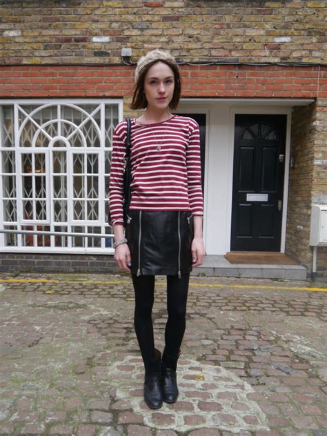3 ways to wear it mcq leather skirt la anglaise