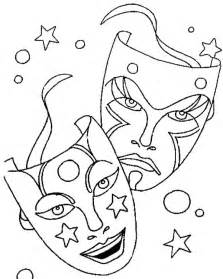 printable mask coloring pages coloring me