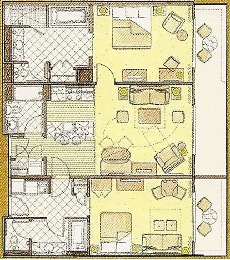 kidani village 2 bedroom villa floor plan resort villa bedroom tattoo pictures to pin on pinterest