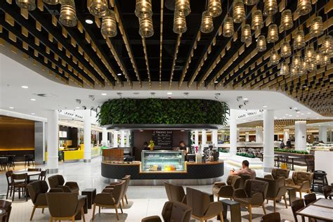 food court lighting design canberra central food court mariquino