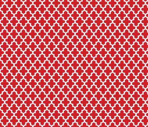 flower pattern eshop red moroccan fabric sweetzoeshop spoonflower