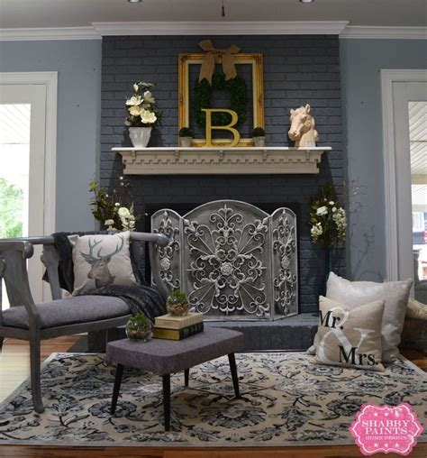 painting a fireplace insert best 25 painting brick fireplaces ideas on