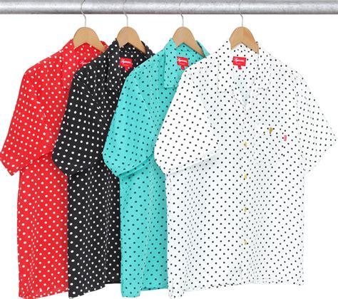 Supreme Polkadot Navy supreme polka dot shirt t shirts design concept
