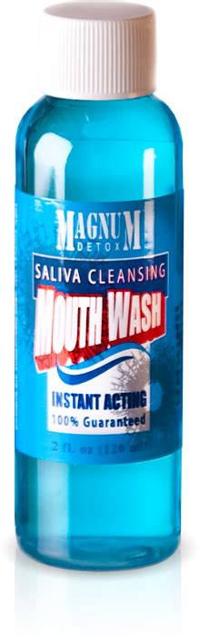 How To Detox Your Saliva by Magnum Detox Saliva Cleansing Mouthwash Magnum Detox