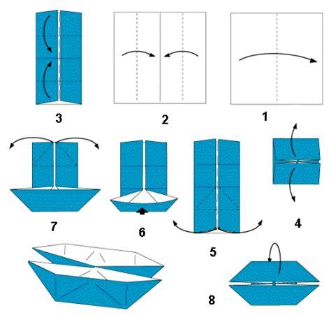 Origami Perahu Boat - origami transportasi laut cara bikin perahu dan kapal
