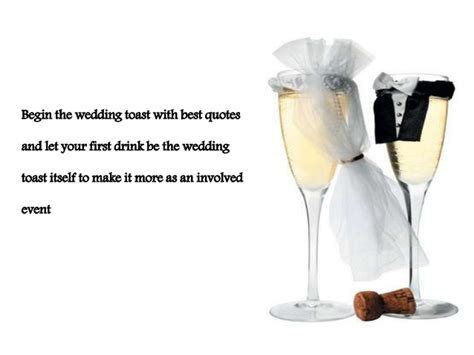 Wedding Toasts by Best Wedding Toast Quotes