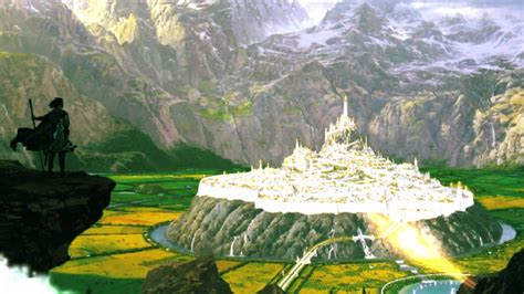 Tolkien City Gondolin by Nasmith   Animated by Tom Roe