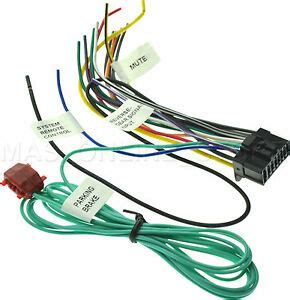 wire harness  pioneer avh xbt avhxbt pay today