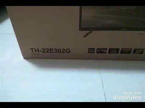 Tv Led Hartono Surabaya unboxing led tv panasonic th 22e302g review