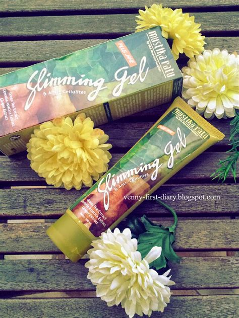 Mustika Ratu Slimming Gel review mustika ratu slimming gel plus jahe venny firstyani